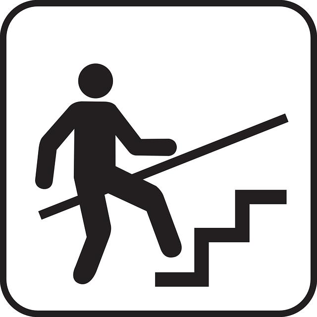 značka schodiště